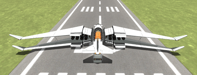how to make space plane in ksp